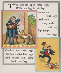 'Many Legs' Nursery Rhyme