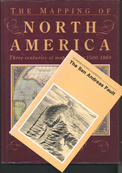 The Mapping of North America book, & San Andreas Fault.