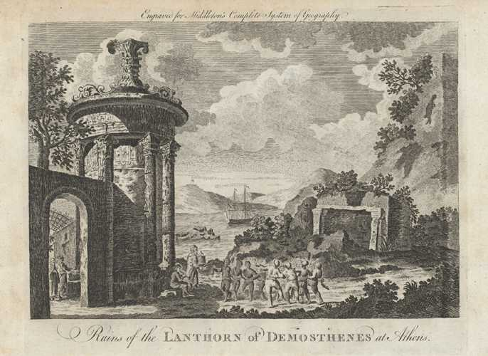 Greek Ruins of the Lanthorn of Desmosthenes, Athens. Middleton, c1777