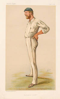 Cricket Vanity Fair print. Australian Cricketer George Bonnor