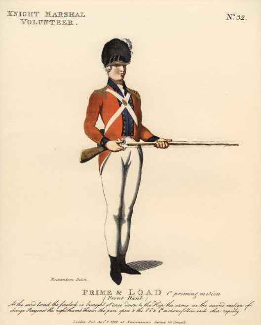 Royal Household's Knight Marshal Volunteer of London