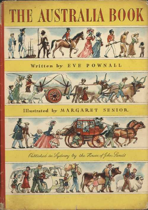 Australia Book. Eve Pownall. History of Australia children's book.