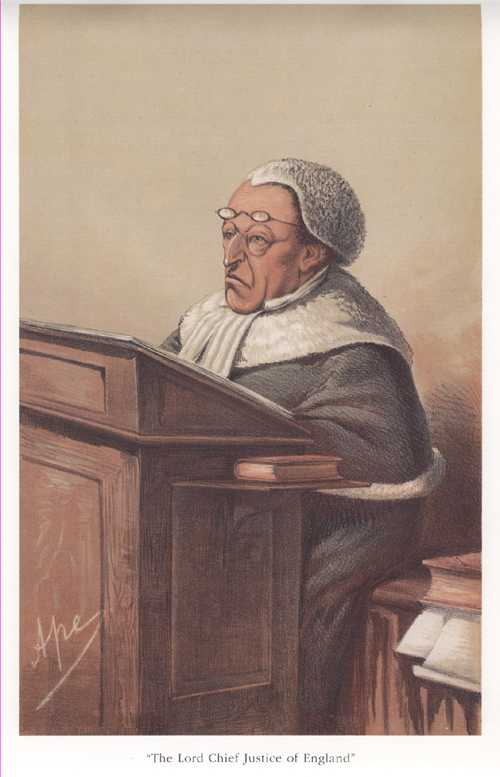 Law. Lord Chief Justice of England. Vanity Fair Legal Print