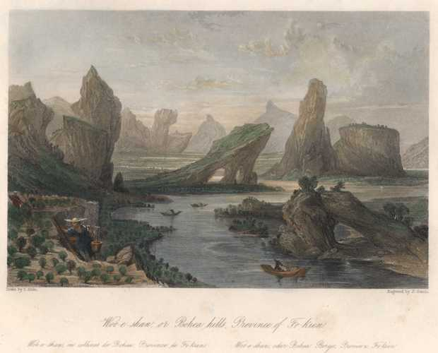 Woo-e-shan. Bohea Hills. China tea-growing region. Thomas Allom c1845