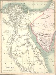 Egypt-Arabia map