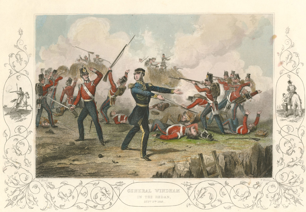 General Windham in the Redan, Sept. 8th 1855.