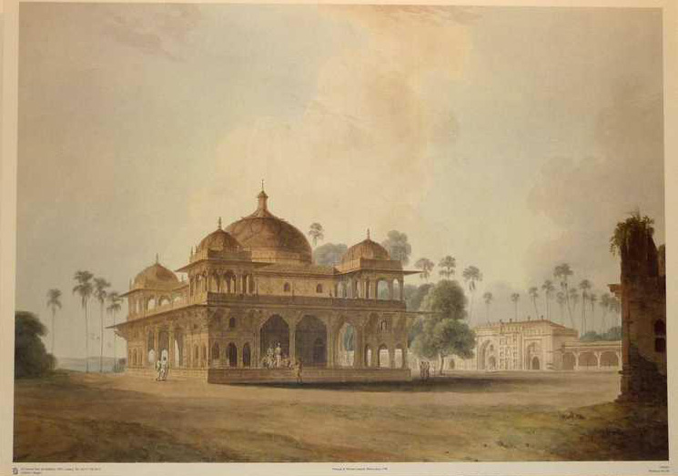 Views in Hindoostan. Indian Architecture large reproduction. Daniell.