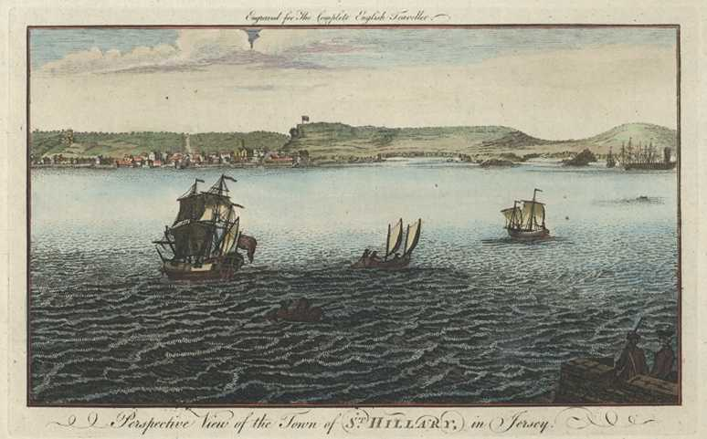 Perspective View of St. Hillary, Jersey. Spencer c1773