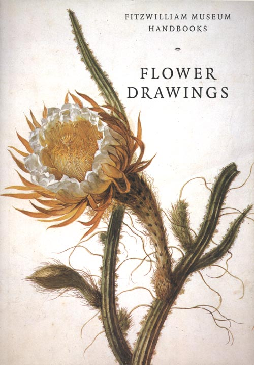 Botanical book. Flower Drawings - Fitzwilliam Museum. David Scrase.