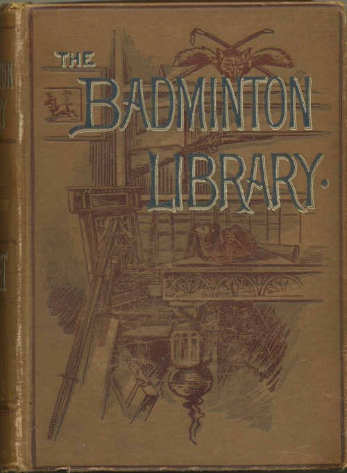 The Badminton Library Cricket book. Steel and Lyttelton