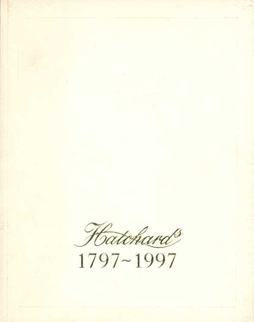 Books. Hatchards 1797-1997. British Bookshop Commemorative Catalogue.