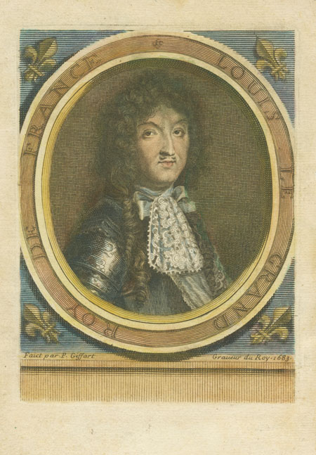 Louis Le Grand, Roy de France. Louis XIV, King of France, c1683.