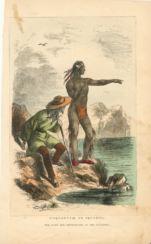 Tisquantum. or Squanto, the guide and interpreter c1864.