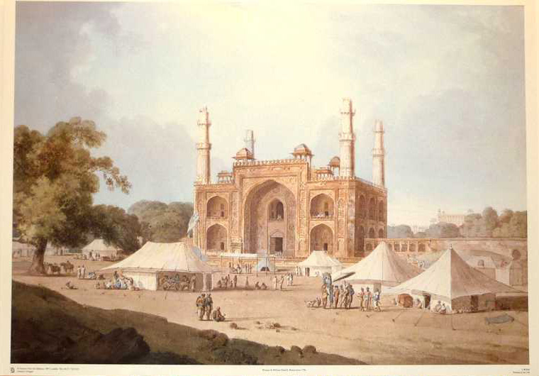 Thomas & William Daniell, Indian Architecture 3. Print from watercolour.