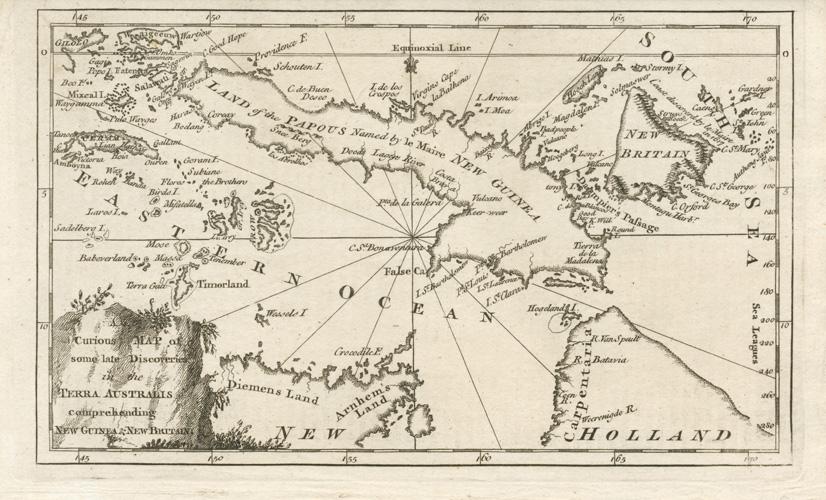 Antique Print Club Australian And Pacific Antique Maps Early Maps - Antique maps for sale australia
