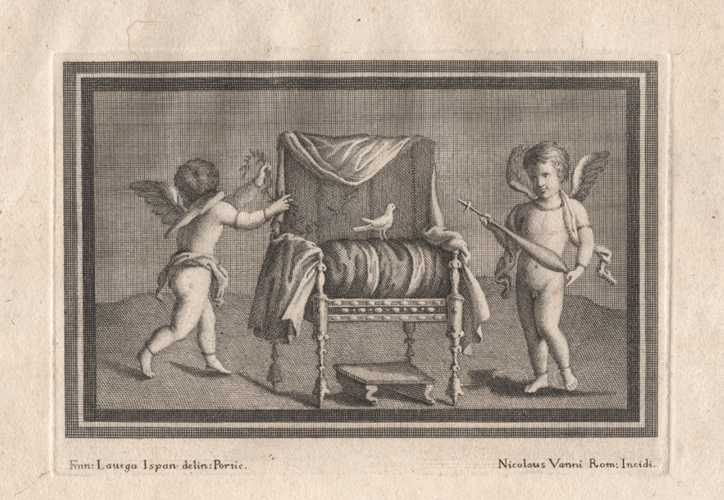 Cherubs at Work and Play. Plate 9. c1757