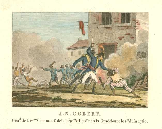 French Military. J.N. Gobert. Militaire Français, Guadeloupe.  c1810