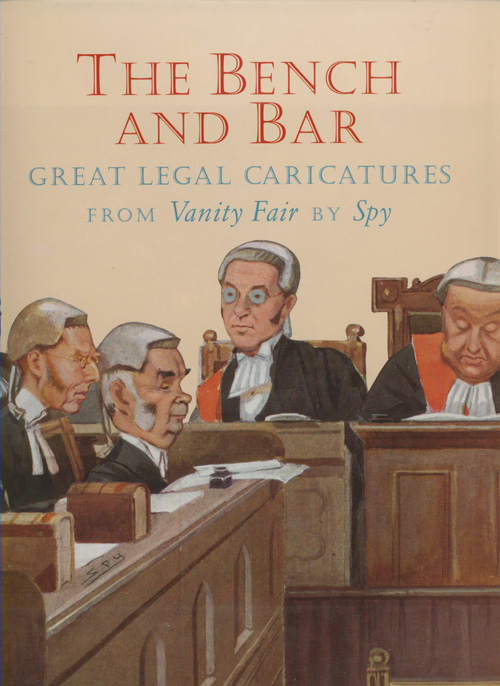 The Bench and Bar Great Legal Caricatures book.