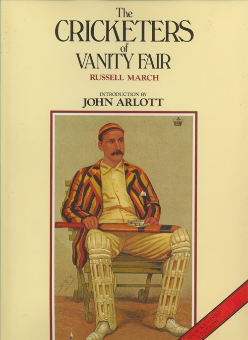 Cricketers of Vanity Fair book by Russell March.