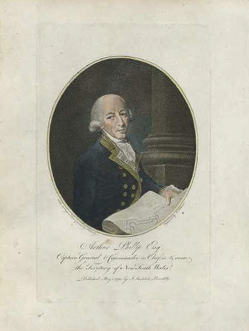 Arthur Phillip Esq., Governor of New South Wales