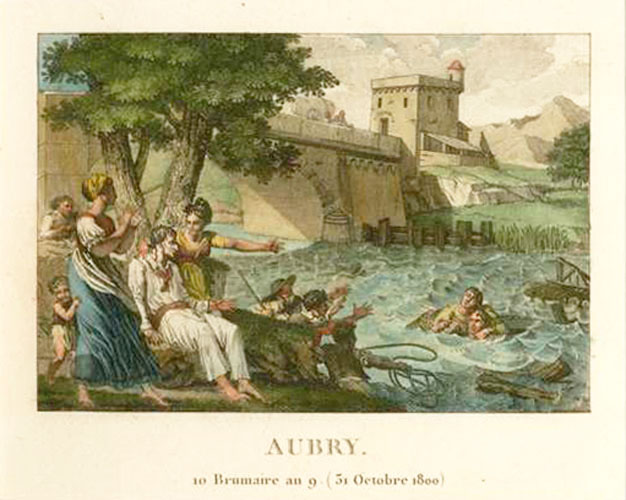 AUBRY at Vermanton, Yonne in October 1800.