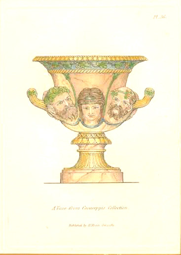 A Vase from Cavaceppis Collection. Henry Moses c1811.