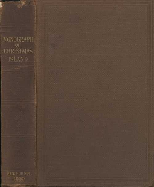 Antique book on Christmas Island. Charles Andrews.1900