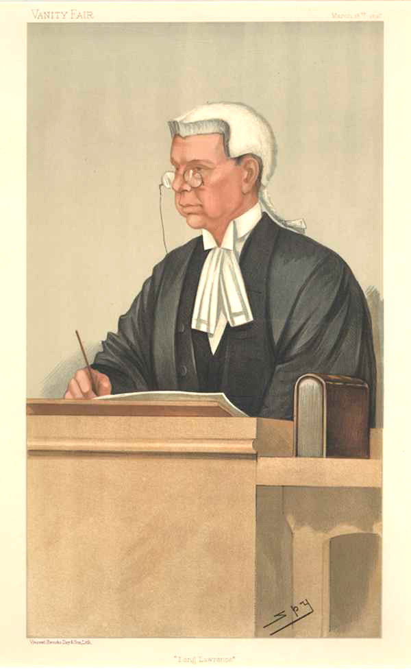Legal Vanity Fair lithograph