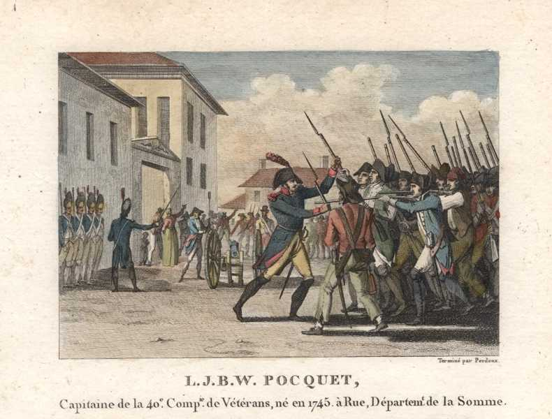 French Military. The Somme. L.J.B.W. Pocquet. Militaire Français. c1810