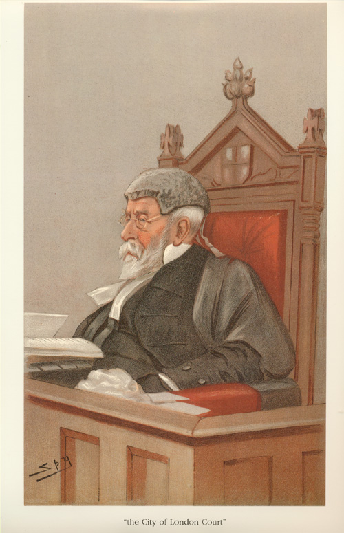 The City of London Court, Vanity Fair judge