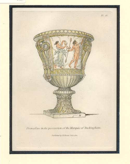 Vase in possession of the Marquis of Buckingham.