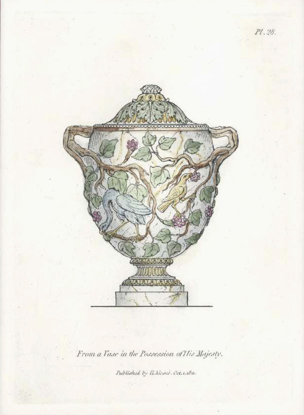 A Vase in the Possession of His Majesty.