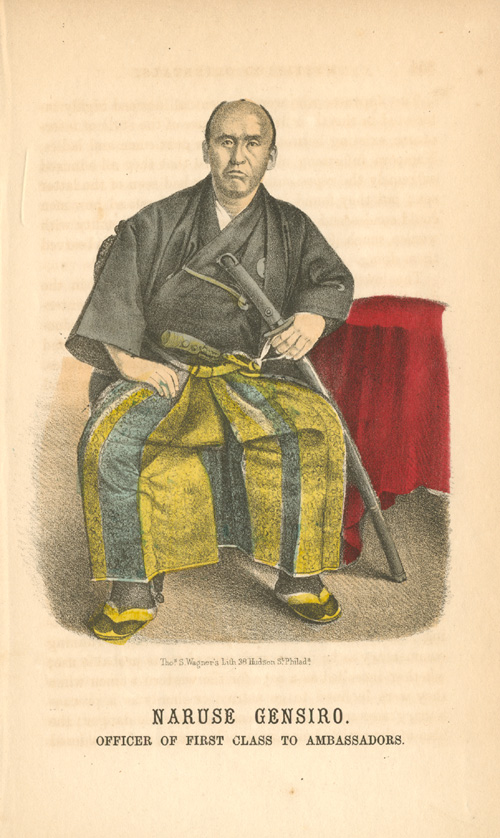 Naruse Gensiro. Officer of First Class to Ambassadors c1860.