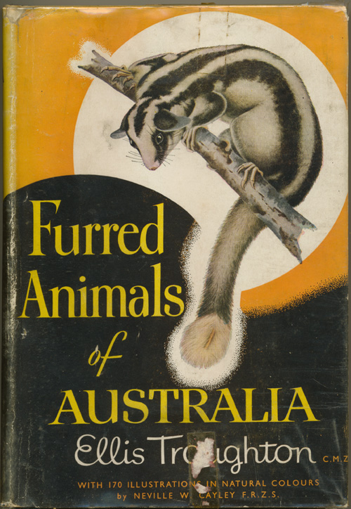 Mammals of Australia, well-illustrated book by Ellis Troughton (1951).