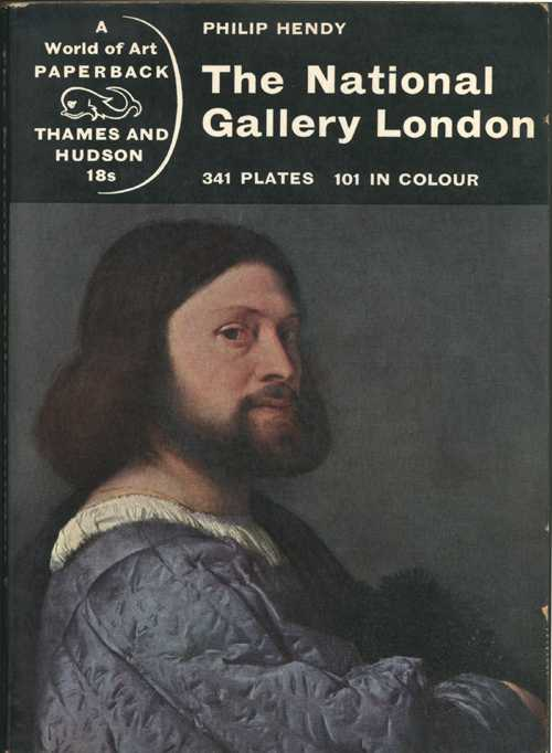 Gallery. National Gallery, London. Book. Philip Hendy